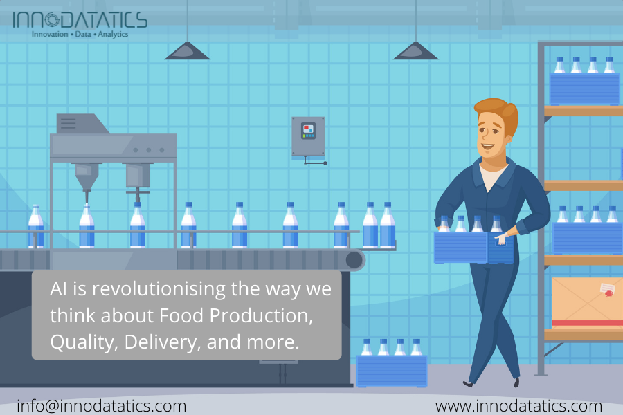 AI is revolutionising the way we think about food production, quality, delivery, and more.  #AI #artificialintelligence #smarttechnology pic.twitter.com/bsLmOwX3Uw