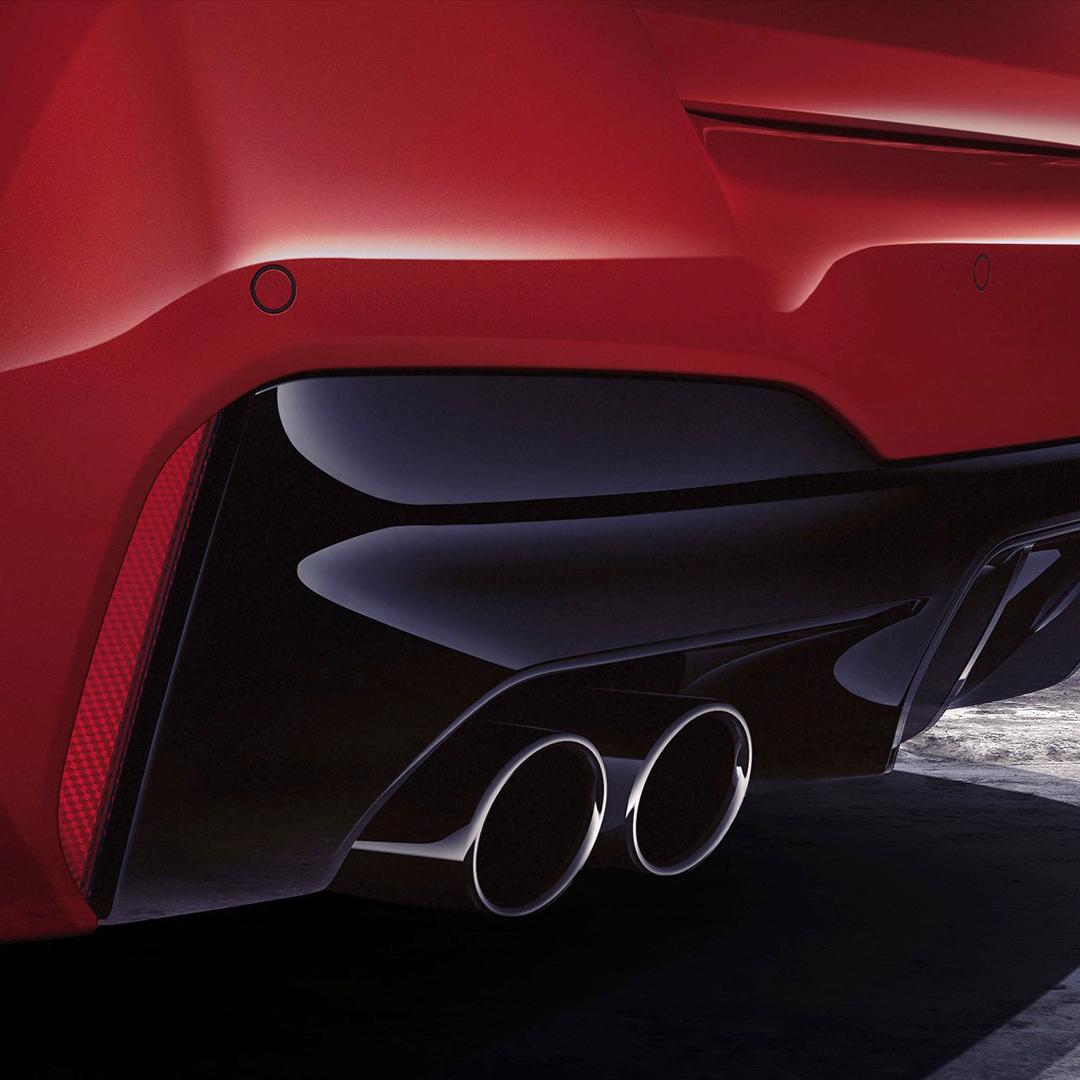 Moc zaklęta w płaszczyznach, detalach i lakierze. Nowe #BMW #M5 Competition w kolorze Imola Red. #TheM5 https://t.co/nXjGGZNDrY