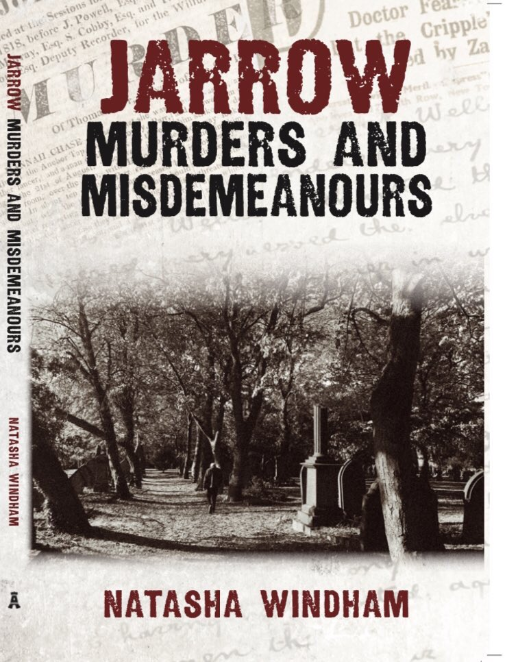 'Jarrow Murders and Misdemeanours' will be published on Oct 15th.   Read true crime stories from  #Jarrow's dark past. Tales include: murder, brawls and theft.   Pre-order here 👉🏻  Also available at Amazon.   #Tyneside #Amberleypublishing #Tynehistory