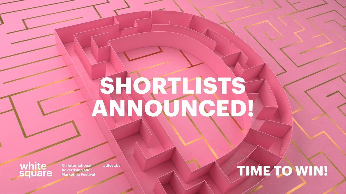 White Square International Advertising Festival announces 2020 shortlists | https://t.co/kgNANW0S6z via @Biz_Marketing @whitesquare_xi https://t.co/WOnBtlgAog