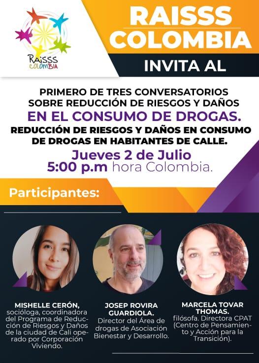 test Twitter Media - 📣 No te pierdas el evento organizado por @raissscolombia1 sobre reducción de riesgos y daños por consumo de drogas.   ℹ️ Participan @pep_rovira, de @abd_ong y Mishelle Cerón, de @CViviendo.   📅Hoy, jueves 2 de julio 🕧5:00pm (horario de Colombia) 💻Zoom: https://t.co/GtSO4gpbhw https://t.co/ajy5crlXJP
