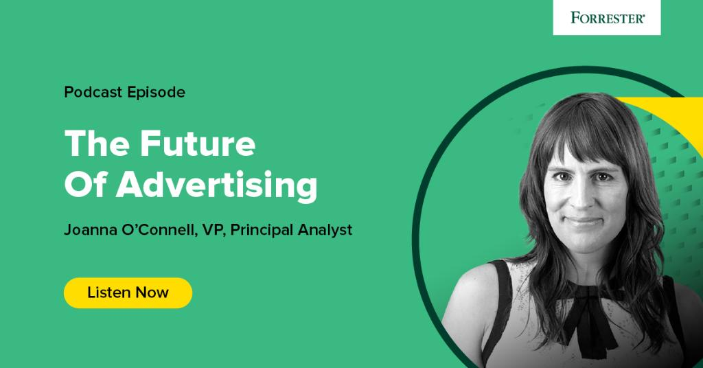 Think the average consumer is fed up with #advertising? Think again. @joannaoconnell says consumers still value advertising as a source of information and inspiration: forr.com/31JCRcR #ForresterPodcast