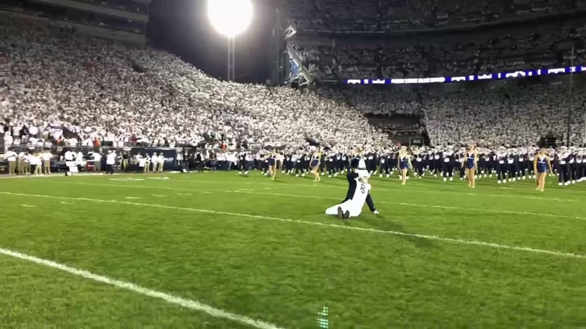 The Greatest Show In College Football Continues... Who does it better? ➡️: @PSUBlueBand #WeAre