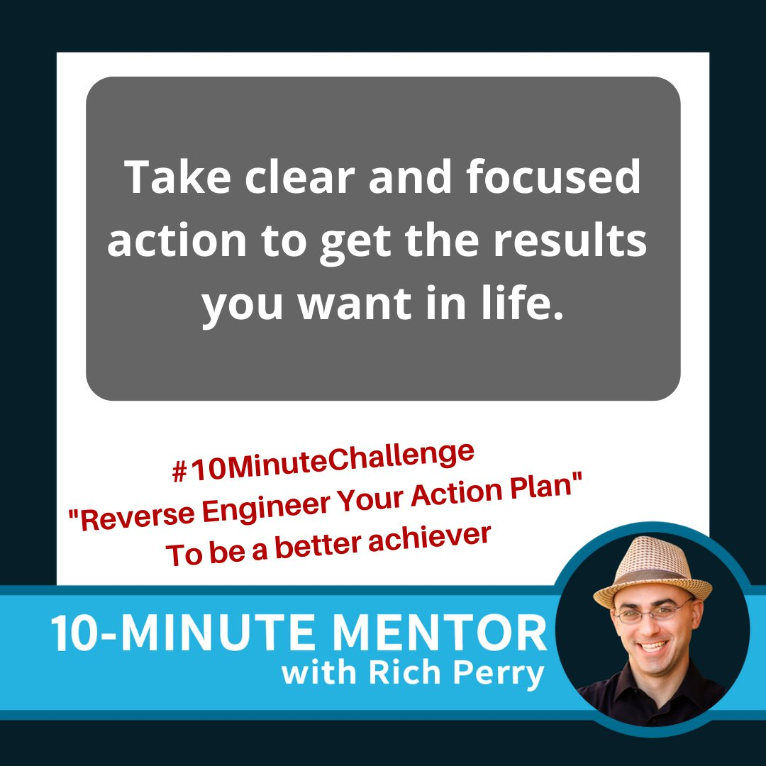 You've heard the expression that hindsight is 20/20. Sometimes it's difficult to guess what would come next in a sequence of events so this episode will utilize that frame of thinking to help you develop a clear action plan.  https://t.co/WKBQnT7Spc | #RichPerry #Goals https://t.co/4arUvHz8sL