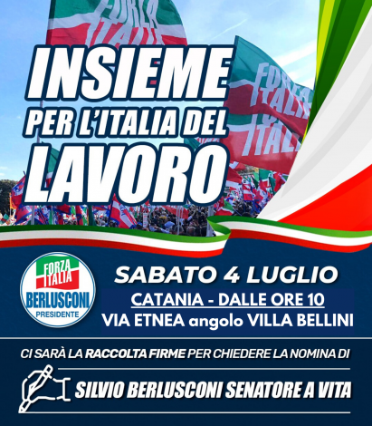 Lavoro e giustizia al centro della manifestazione di Forza Italia a Catania - https://t.co/MQAvhf5hDa #blogsicilianotizie