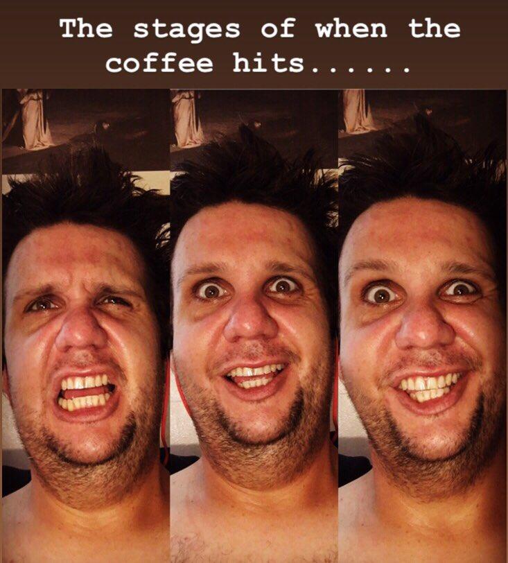 Mornings be like.... #selfie #coffeetime #writerslife #comedian #artist #creative #contentcreator #podcaster #starbucks #meme #quarantinelife #thenewnormal https://t.co/0k5RjLd4c9