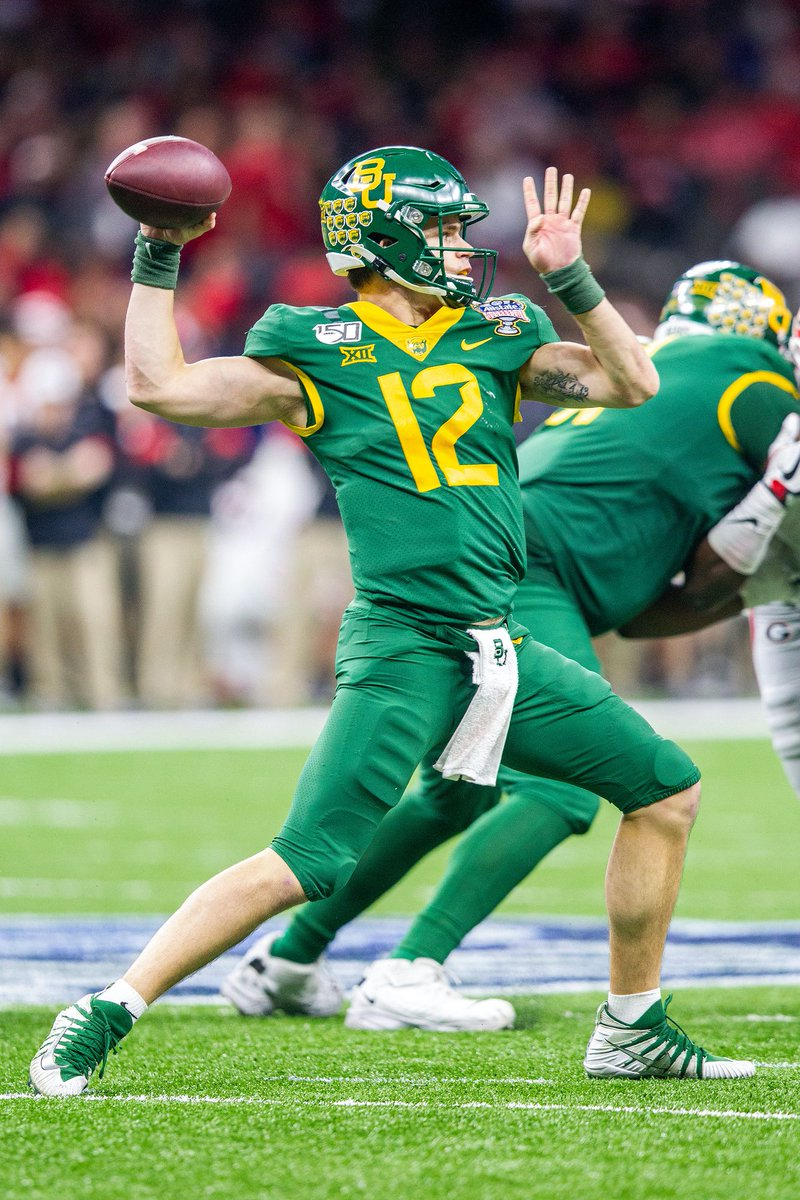 Big 12 Storyline 2020: Baylor, Dave Aranda are counting on QB Charlie Brewer's health https://t.co/4LodM5J94E https://t.co/dz5iQHqqPE