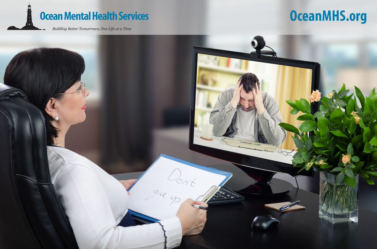 Since March when COVID-19 put the stay at home order into place @oceanmhs has remained open. With a combination of in-person & telehealth options. Thanks to @FCC @oceanfirstfdn and the TR Health&Support Coalition. Learn more https://t.co/pvKaSIWioy #MentalHealthMatters https://t.co/KyMGo4b8sI