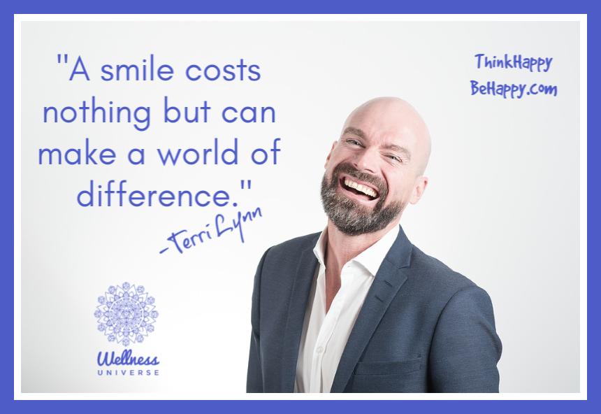 """A smile costs nothing but can make a world of difference.""  -Terri Lynn   https://t.co/ebx0rSVEDs #terrilynn #WUVIP #smile #livehappy #happiness #thinkhappy https://t.co/Ri2abw9hvq"