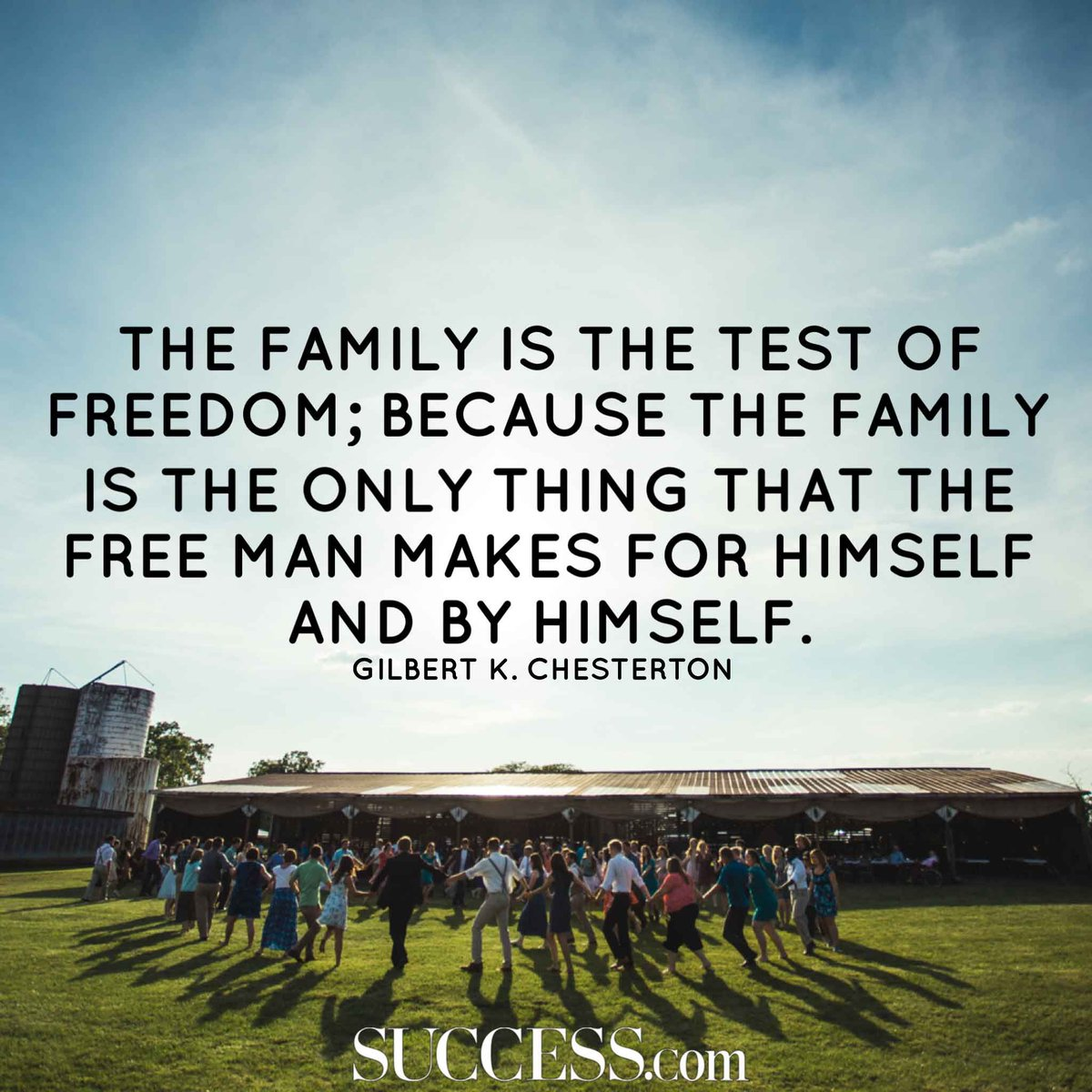 Call it a clan, call it a network, call it a tribe, call it a family: Whatever you call it, whoever it is, family is important.  Take a look at these #quotes all about family.  https://t.co/CHnVbDW0iY via @successmagazine #happiness #gratitude https://t.co/KpHgXeEi4F