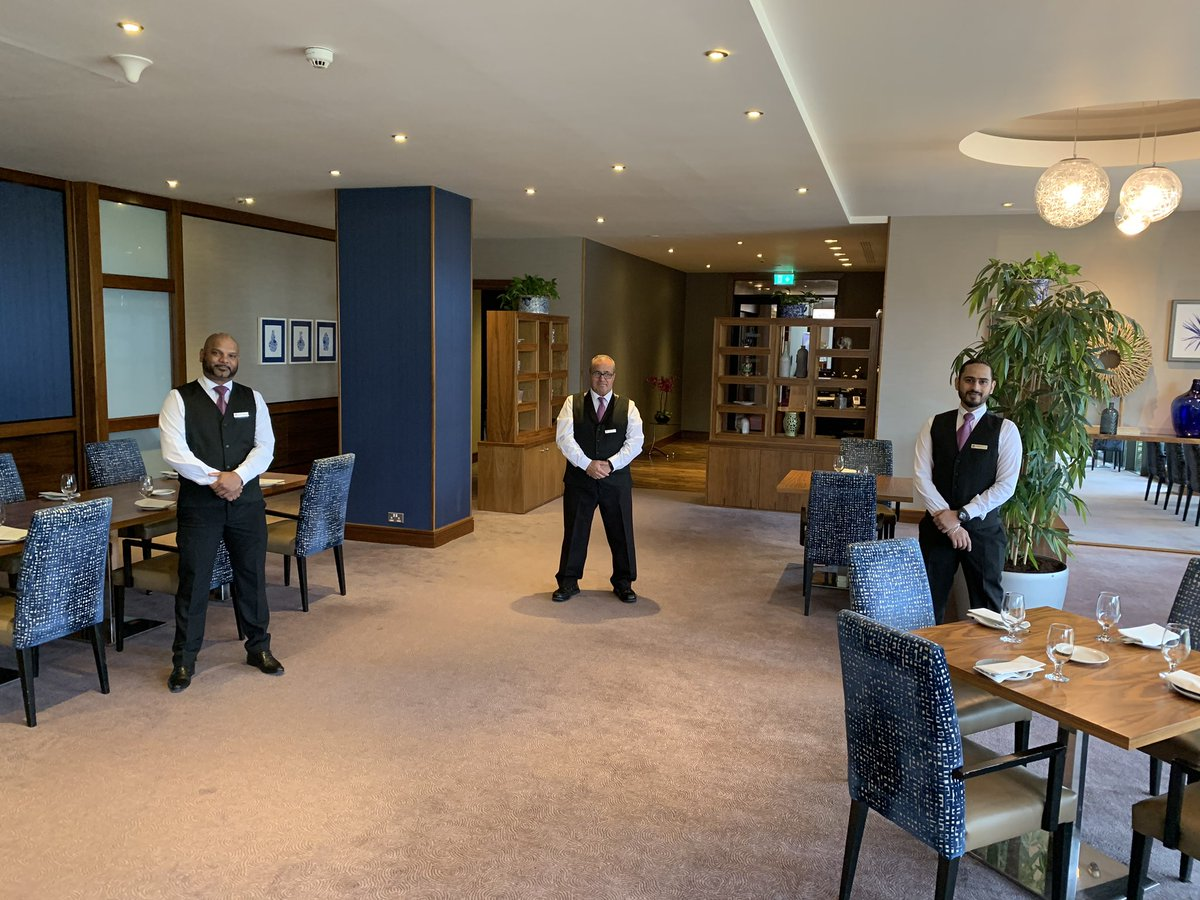 Great to welcome some of our team back as we prepare to open the restaurant tomorrow. Looking forward to giving all our guests a @pure_cork welcome #newnormal #buzzisback #PPP #strongertogether https://t.co/MGAb3MhyId