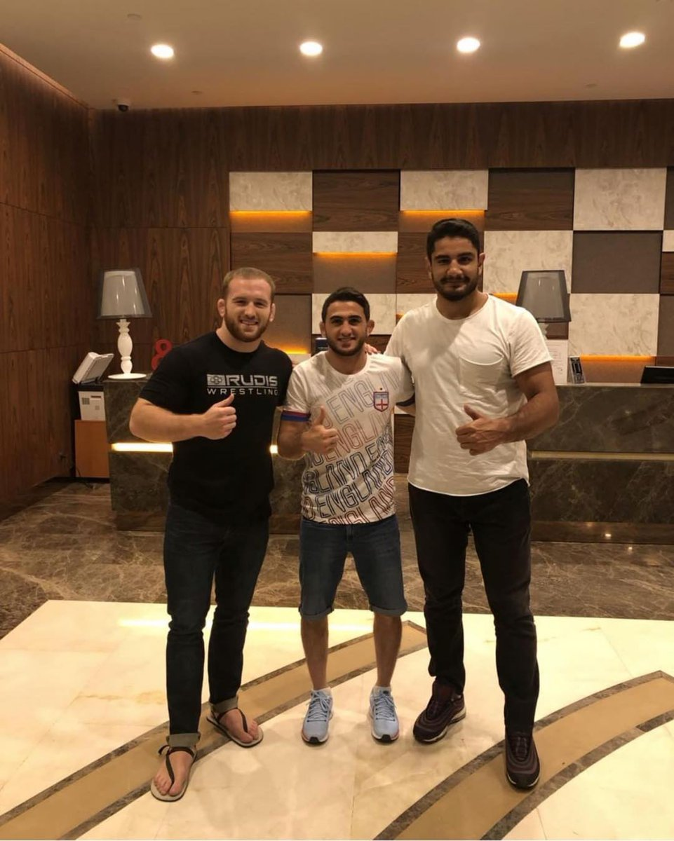 How many combined world and Olympic medals do Taha AKGUL (TUR), @haci_aliyev_65 and @snyderman45 have? A) 13 B) 14 C) 15 D) 16 https://t.co/vB9Cruz7zW