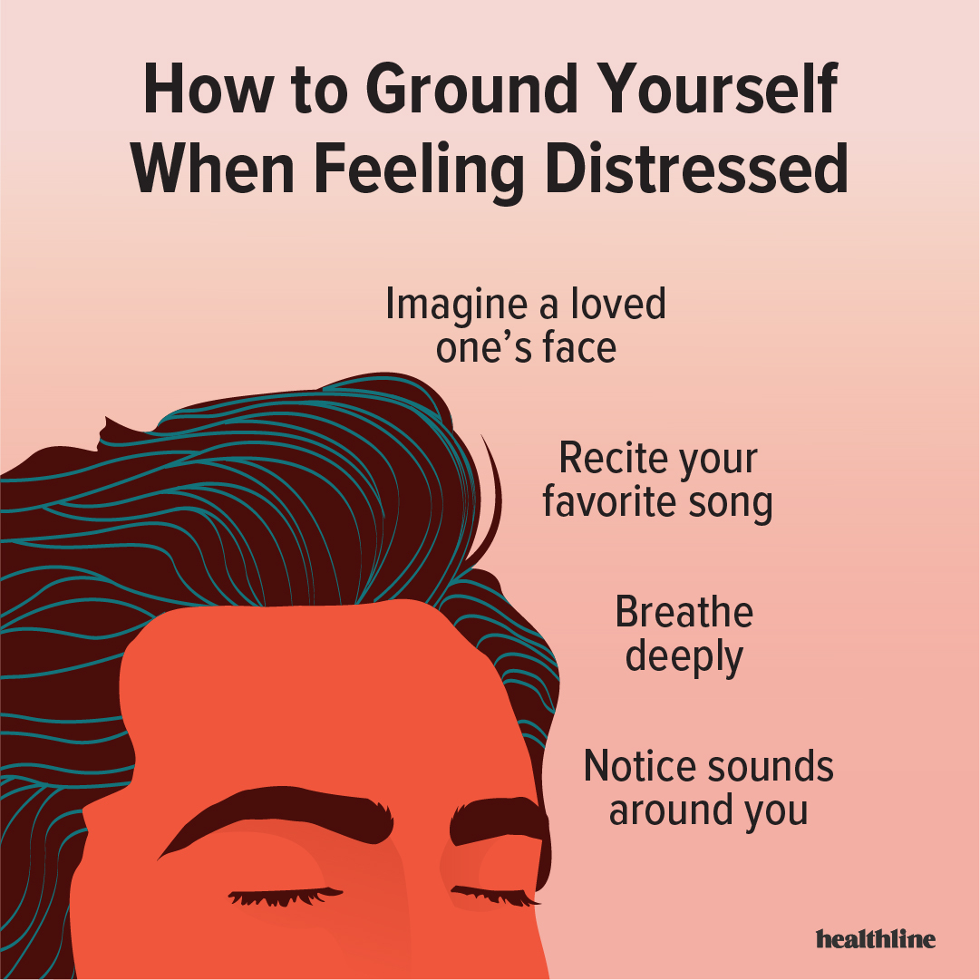 Its always helpful to have a few grounding techniques in your back pocket to use when negative feelings arise. These methods can help bring you back to the present moment and keep you from spiralling into distress. For more, follow us on Instagram: bit.ly/2SThSjm