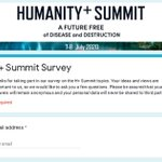 Image for the Tweet beginning: For the upcoming @HumanityPlus Summit