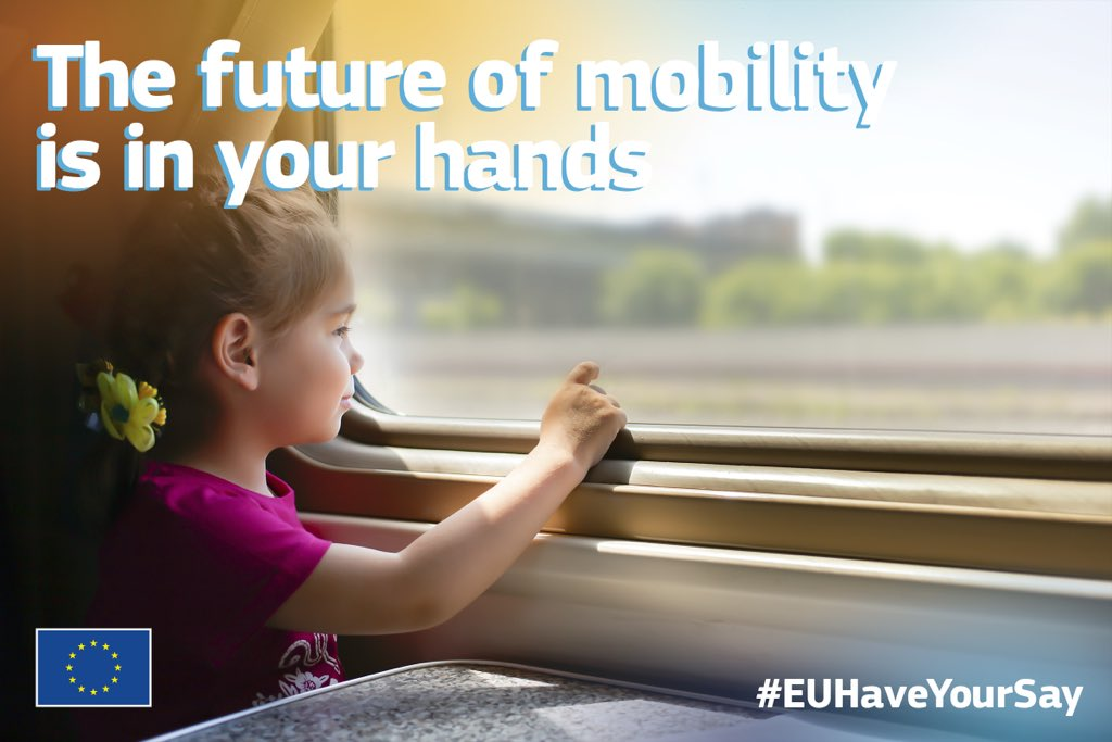 Later this year we will present the new #MobilityStrategy, aiming to create a smart, sustainable and resilient #transport system for the generations to come. Have your say via our public consultation: europa.eu/!UP47Wh #EUGreenDeal @Transport_EU