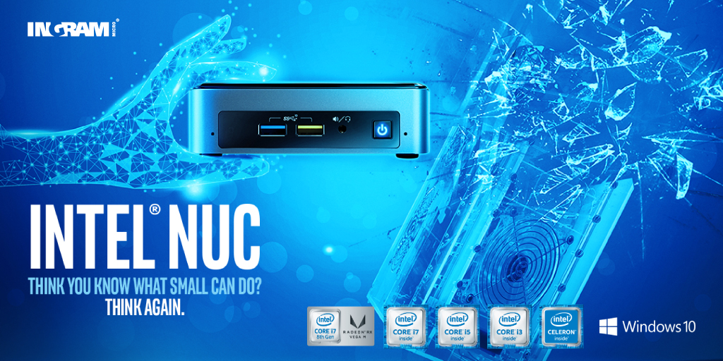 How much power is there in 4 inches? 💪  Versatile and flexible ➡ @intel NUC, a Mini Pc with the power of a full size tower  Experience the full range of Intel® NUCs and win 👉 https://t.co/ghdcqwfPs9  #minipc #nuc #intel #power #desktop #tiny #mini #modernWorkplace #Workspace https://t.co/YhcmHt4yKU