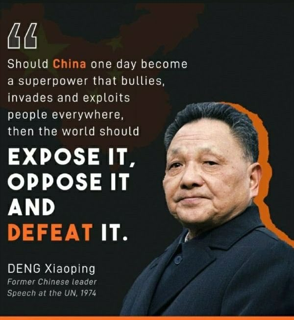 @SpokespersonCHN Deng once said this and the day has come. https://t.co/RyZv1NBzTL