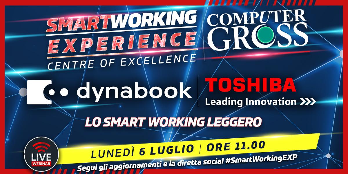 """SMART WORKING EXPERIENCE Lunedì 6 Luglio ore 11.00 appuntamento con Dynabook / Toshiba """"Lo Smart Working Leggero""""  ISCRVITI >>> https://t.co/NhDQ8gSuLO  #dynabook #toshiba #smartworkingexp @dynabookIT @toshiba https://t.co/lB69ZNRCne"""