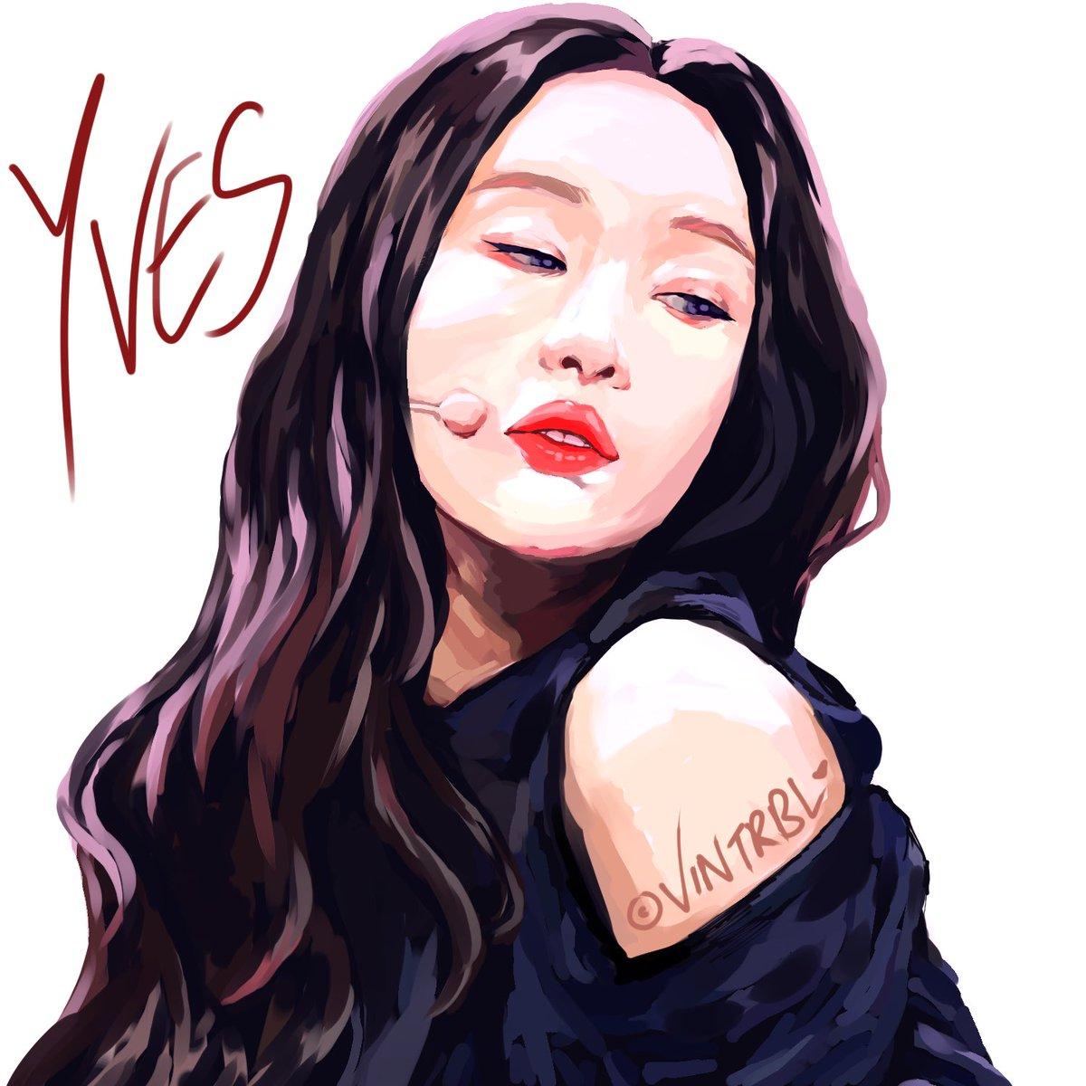 KCON Yves 🦢 by me #LOONA #Yves #loonafanart #art #kpopfanart #kpop