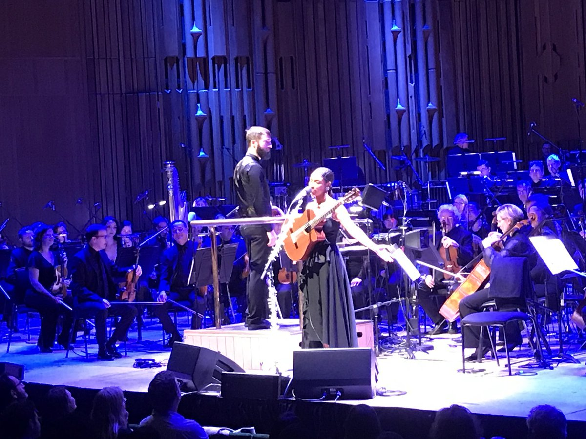 This #LetTheMusicPlay last gig photo comes from one of the Attitude is Everything team - @liannelahavas at the @BarbicanCentre. Do you have images from the last live music event you saw? Share them with the hashtag #LetTheMusicPlay to show support for the live music industry.
