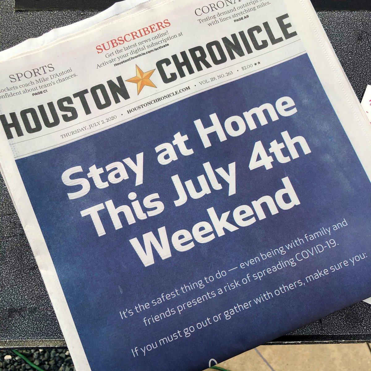 This message wraps around today's @HoustonChron (h/t @davidgura) https://t.co/yrPZRrzph2