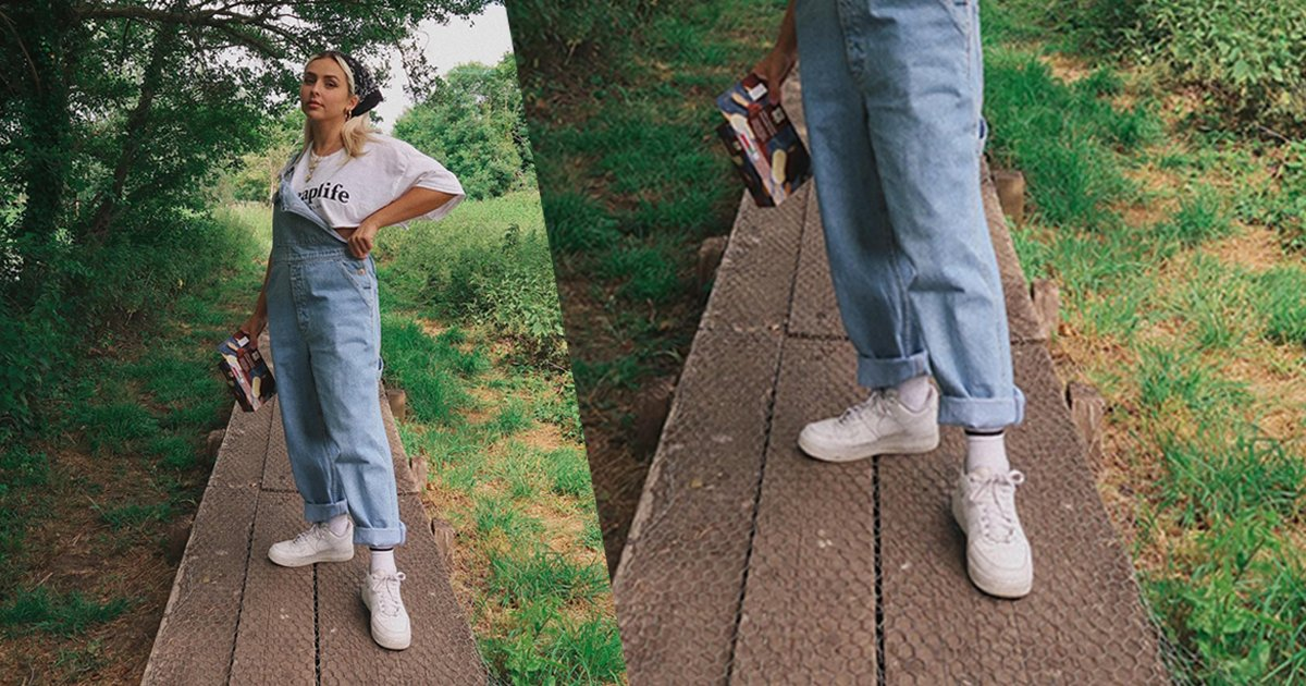 Dungarees and AF1 is a look 📸: ch32 https://t.co/gNokHTi8dQ