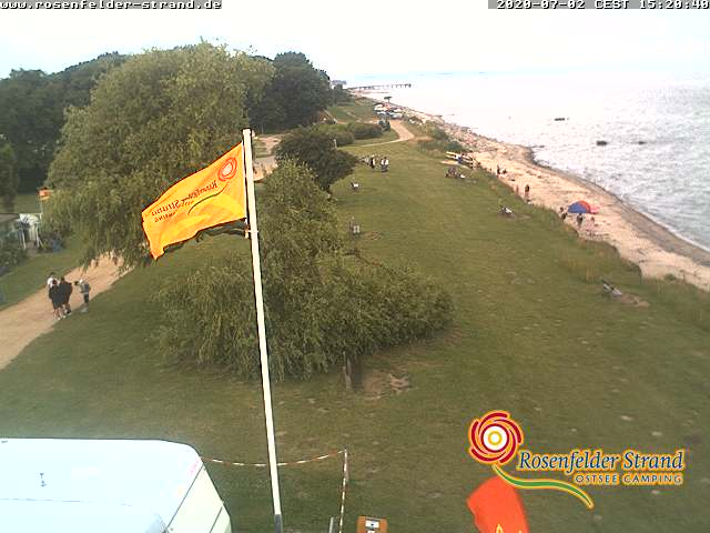 Watch live webcam Rosenfelder Strand Ostsee Camping  #Grube #Germany #sea #camping #strand #beachlife #beaches  https://t.co/pUjnlzeJaY https://t.co/QLRmurL7Jt