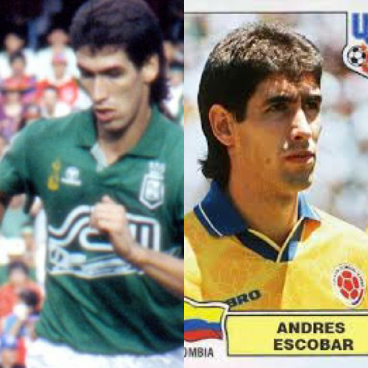 @nacionaloficial @FCFSeleccionCol  Andre2 E2cobar #Inmortal2 El caballero del fútbol #SDVSF pic.twitter.com/3HTexr4TAh