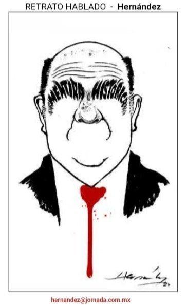 Fue publicada ayer esta caricatura (es decir, la de @monerohernandez , no la mala investigación hecha por el criminalmente mentiroso #MurilloKaram ) , pero vale tenerla presente todos estos días para que el castigo de la ley no quede solo en #TomásZembrón #TambiénPeñaYKaram https://t.co/v2UmsGY53m