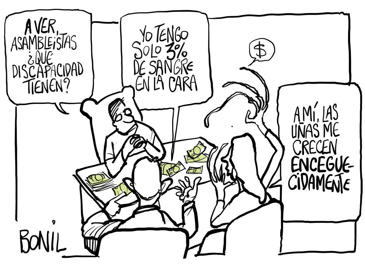 La capacidad de algunos asambleLISTOS...  #Bonil #bonilcartoons #CorrupcionEcuador https://t.co/qLhVulI3A0