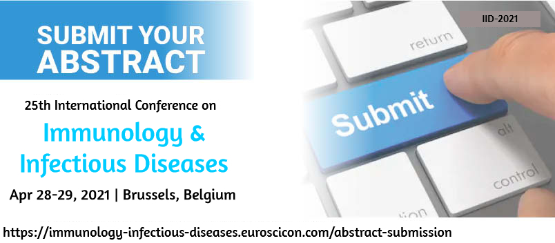 """#CallforPapers #Covid19 #Immunology #InfectiousDiseases Jon us at """"25th International Conference on Immunology & Infectious Diseases"""" during Apr 28-29, 2021 in Brussels, Belgium. #Website: https://t.co/IM2QoNPOqS  #Mail: eurovaccines2020@gmail.com #Whatsapp: +44-3308088515 https://t.co/4jL5WifyF6"""