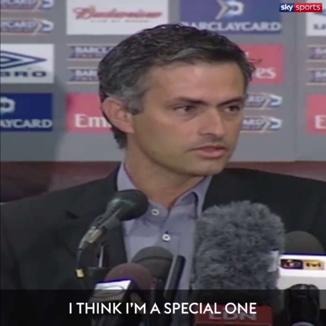 #OnThisDay in 2004 José Mourinho gave one of the most iconic press conferences of all time ⏪