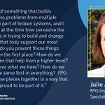 Image for the Tweet beginning: FPG #Implementation #Scientist Julie Austen