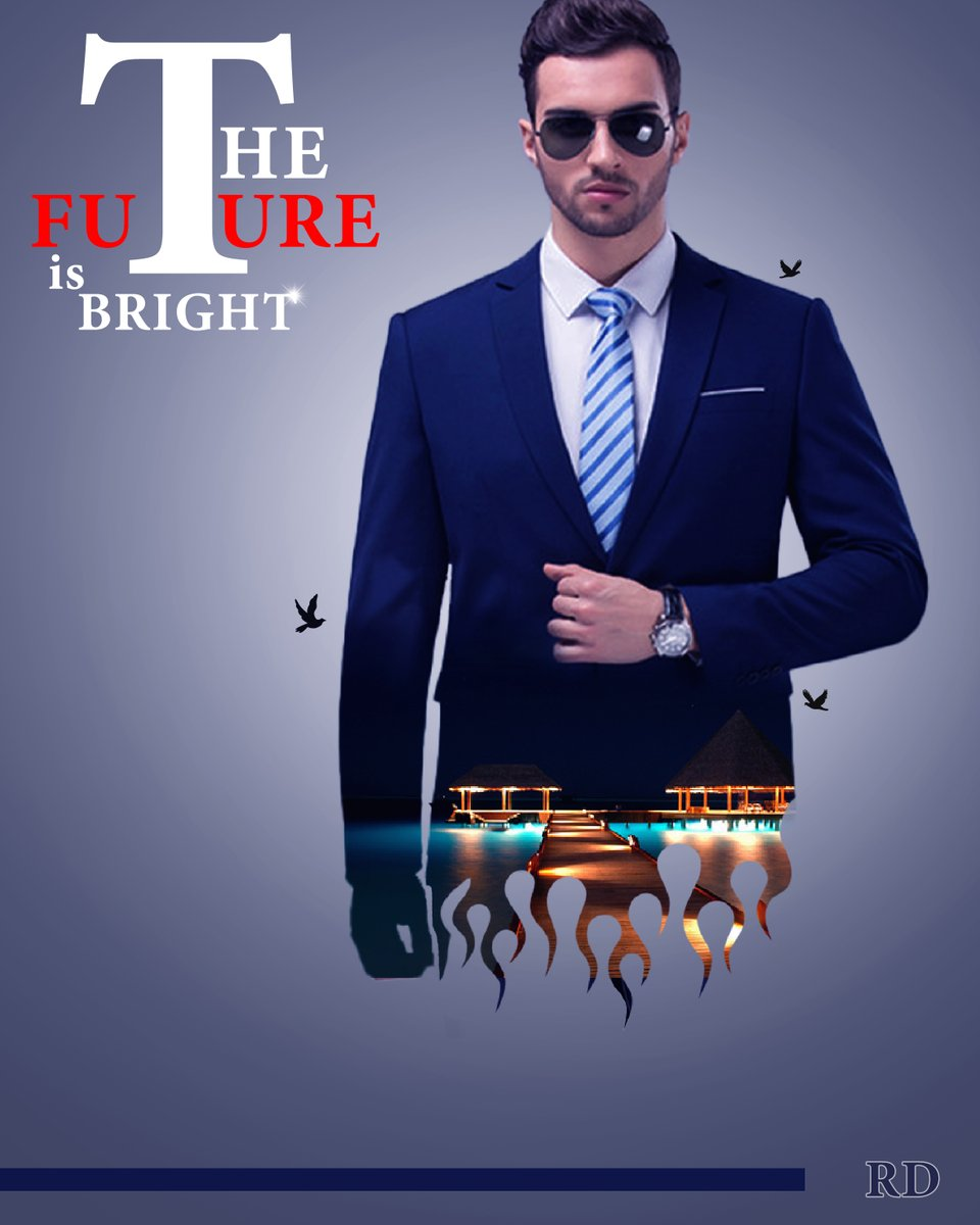 The Future is Bright #photoshop #photography #art #artist  #drawing #digitalart #artoftheday #artwork #freelance #Posterdesign #photooftheday #draw #design #poster #Banner #graphicdesign #Posterdesign #Manipulation #photoediting #creativity #Photoedit #artlover  #Film #FilmPoster https://t.co/S04iJjfEhE