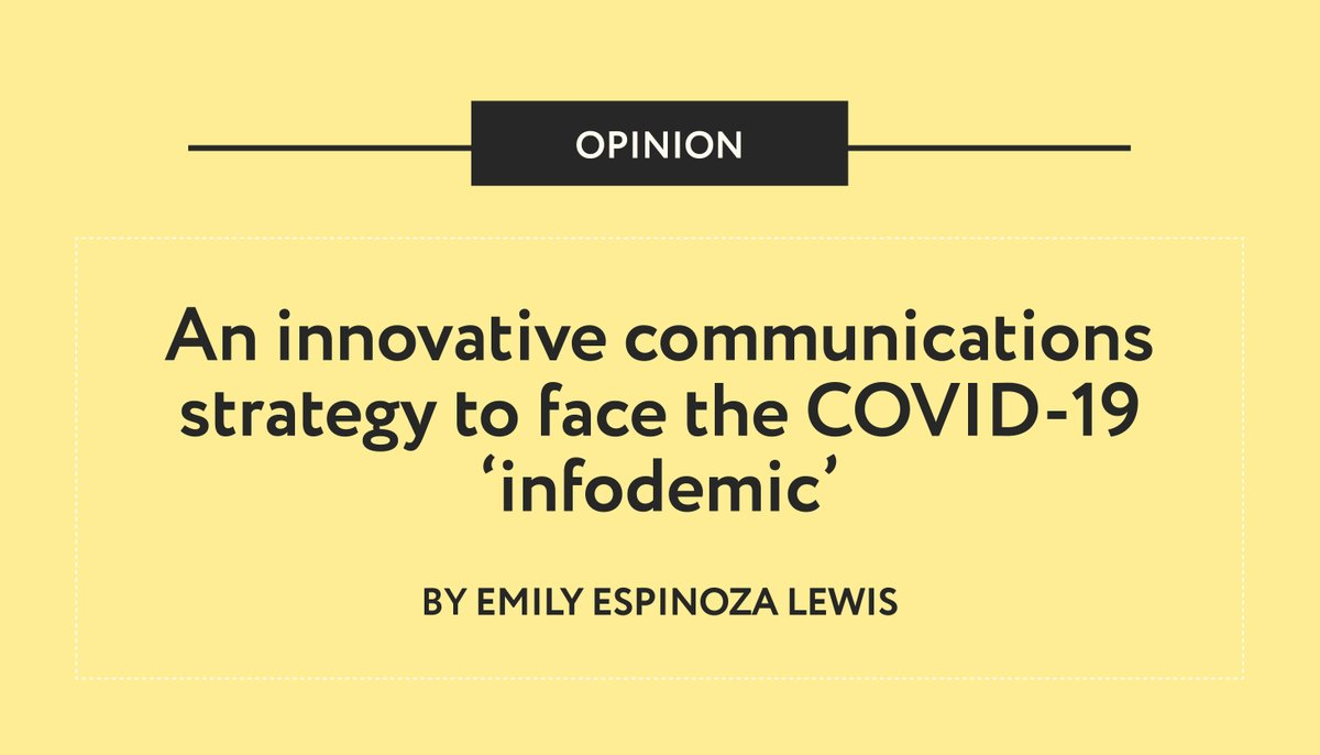 'Passive strategies and academic bubbles are now gone. For #thinktanks today, thinking outside the box is the call to action.' @emilyg_espinoza Director of communications at @equilibrium_cd https://t.co/8J7WWpgxqm https://t.co/aWRbU7Jizf