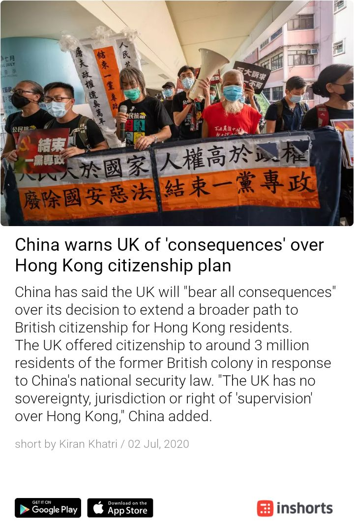 China don't know what to do and how to react . They keep threatening to everyone but the world know very well that the Chinese time is over. @carrielamcheng @hkbhkese #StandWithHongKong  https://t.co/6hGN58mdop https://t.co/lDZFlSXCJJ