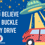 Image for the Tweet beginning: Buckle up for every drive,