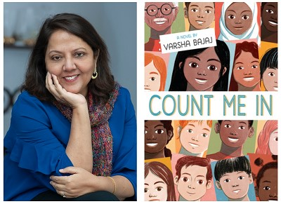test Twitter Media - It's Virtual Book Tour day with author Varsha Bajaj! Visit our blog to hear the author talk about her latest middle grade novel, Count Me In. You'll also find an invitation to imagine activity, a view of a signed copy of the new book, and much more! https://t.co/D2K1JdVP6X https://t.co/Cpgpgr545Q