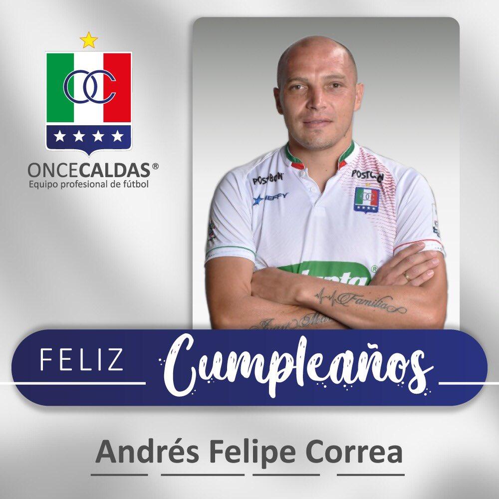 🇮🇹 🤗 Un abrazo para nuestro capitán @pipecorrea6 en este día tan especial, que vengan muchos años más y muchas celebraciones 🎉⚽️. https://t.co/60cHy0dlzH
