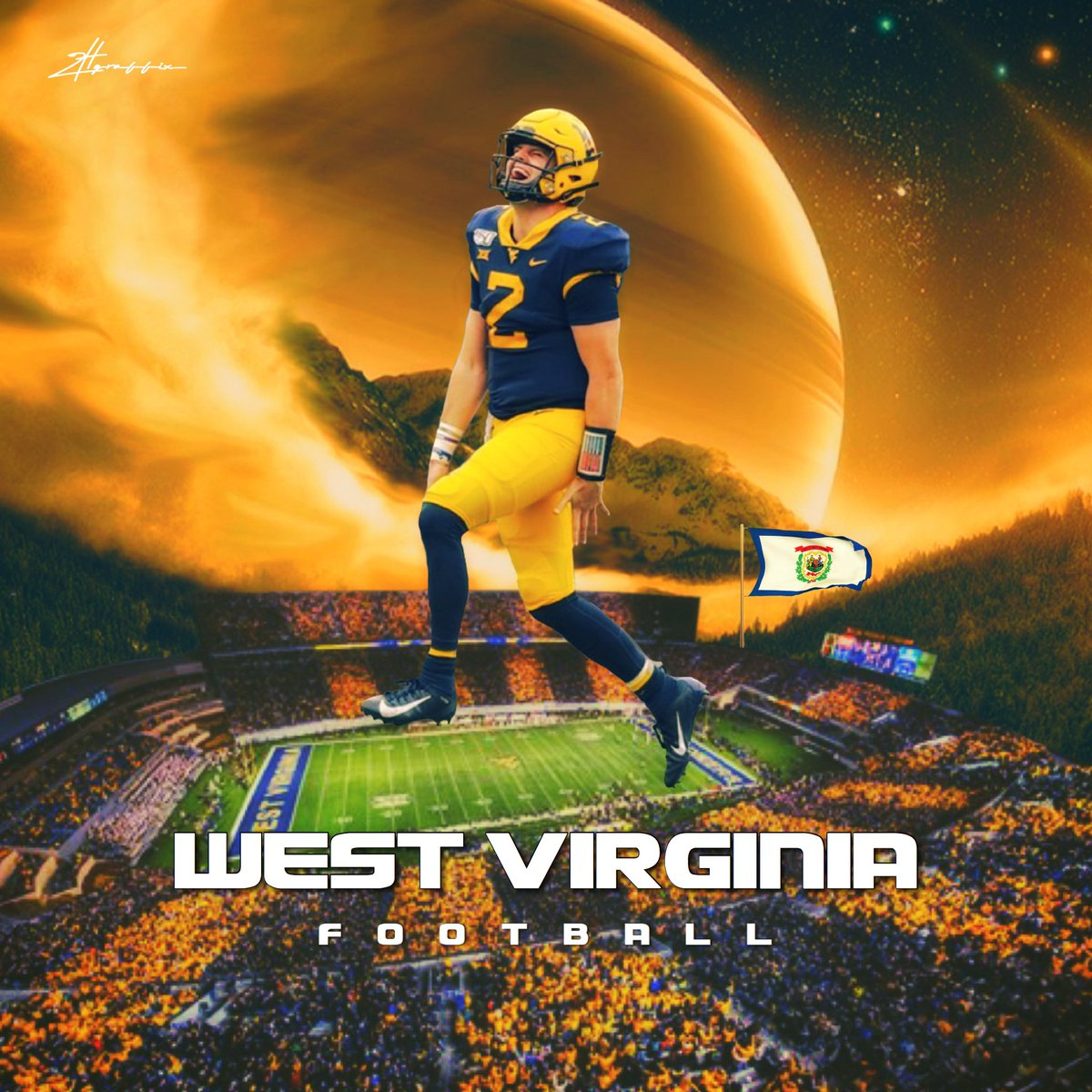 What does the future hold for @WVUfootball ?  I believe it's bright! <br>http://pic.twitter.com/S3YWI7L8qK