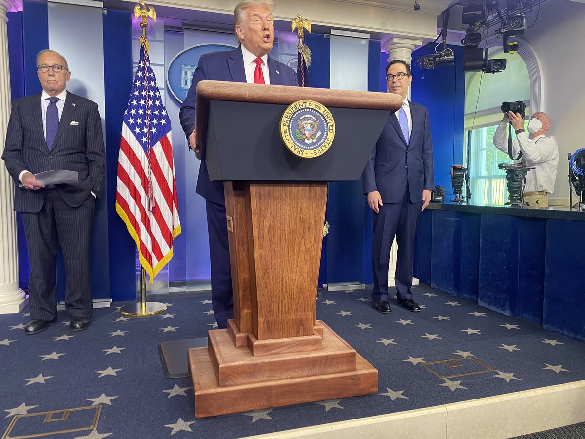 """The president left his """"news conference"""" without answering a single question. https://t.co/DSKzqCogqf"""