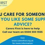 Image for the Tweet beginning: Are you carer who could