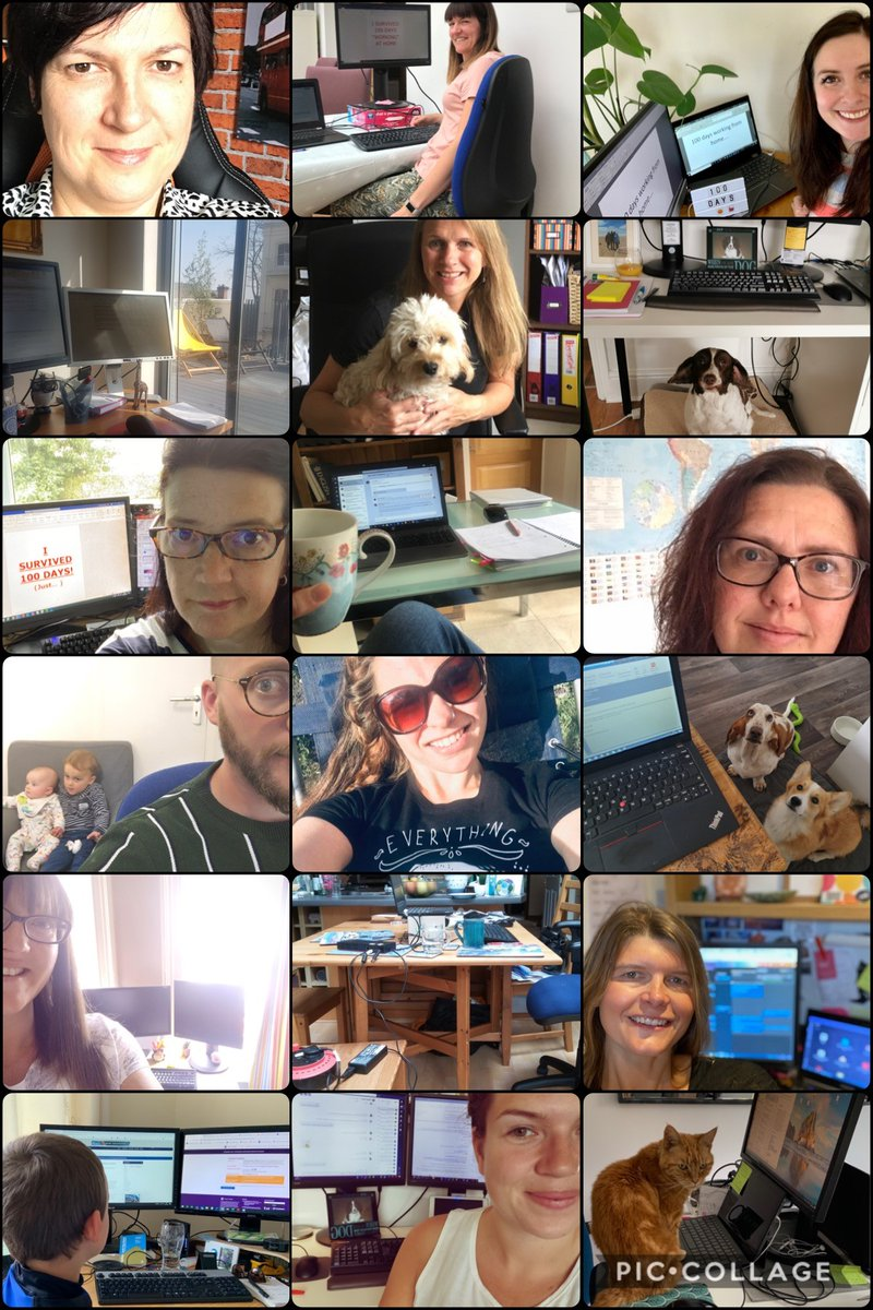 """Yesterday marked #100day milestone since the team @NCTU left the office and started #WFH.  Throughout all of the challenges and successes during this time, we've stayed """"together"""" as a unit to continue supporting each other, everyone we work with and our trials #BetterTogether https://t.co/CjO8bmqnj2"""