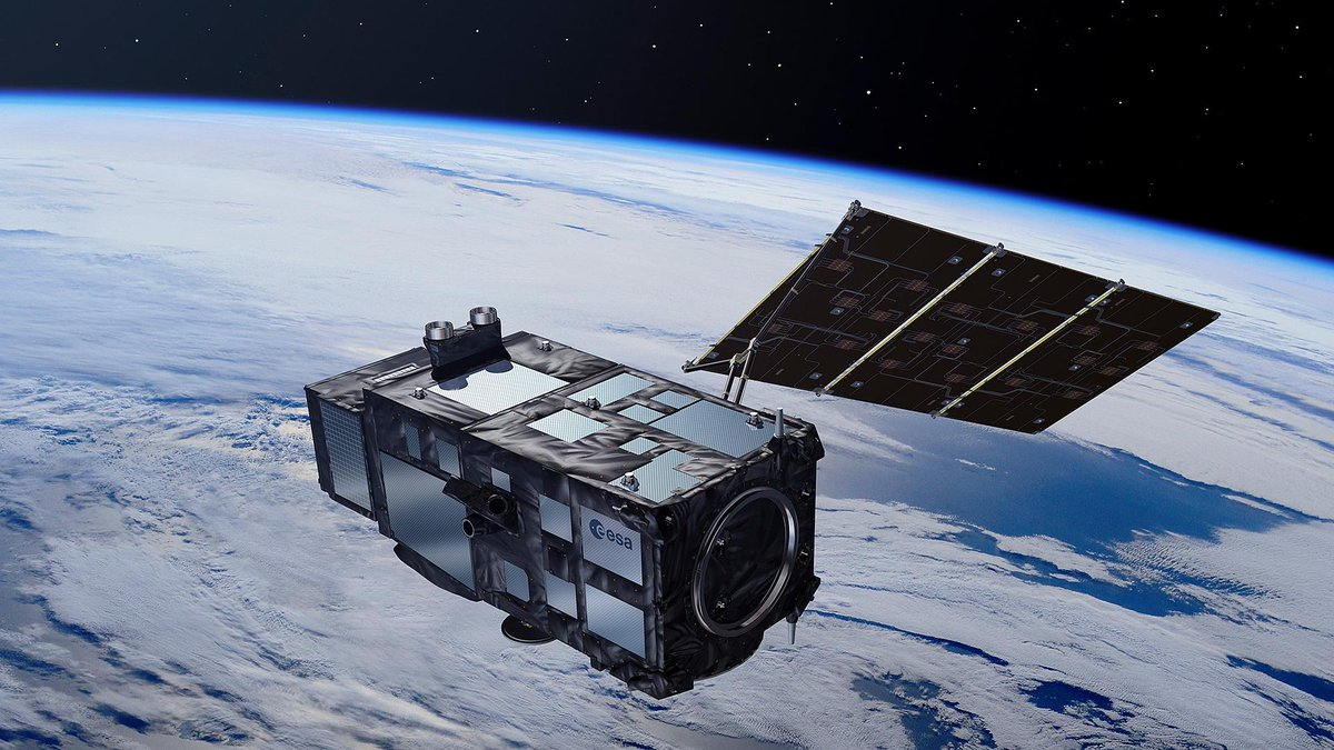 .@ESA has awarded contracts worth over €800M to German 🇩🇪space companies involved in the development of 6 new #Copernicus satellites 🛰️. The satellites will address global challenges related to the climate 🌍, agriculture 🚜, and the oceans 🌊. dlr.de/content/en/art…