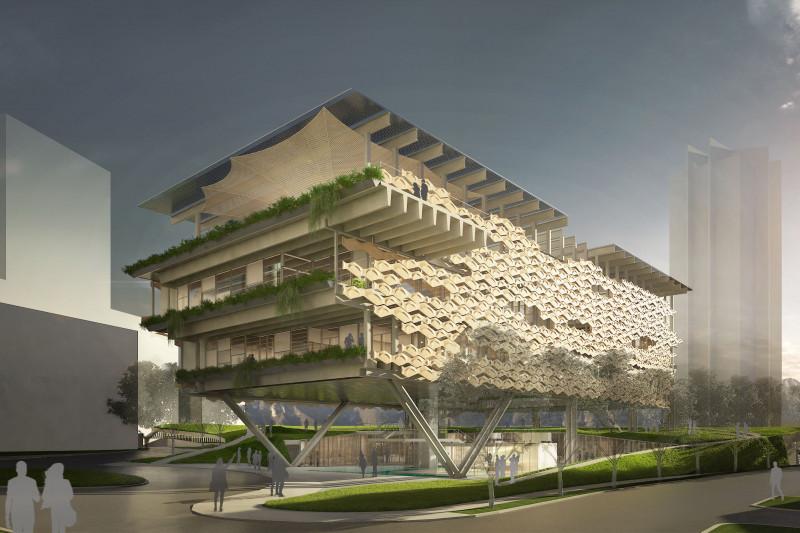 PGI México, filial mexicana de @pgiengineering ha diseñado el primer edificio de #Latinoamérica que aspira a obtener la certificación Nzeb (Net Zero Energy Building). El OUM Wellness ubicado en Monterrey se comenzó a construir a finales del año pasado. https://t.co/WzhG9j2N9x