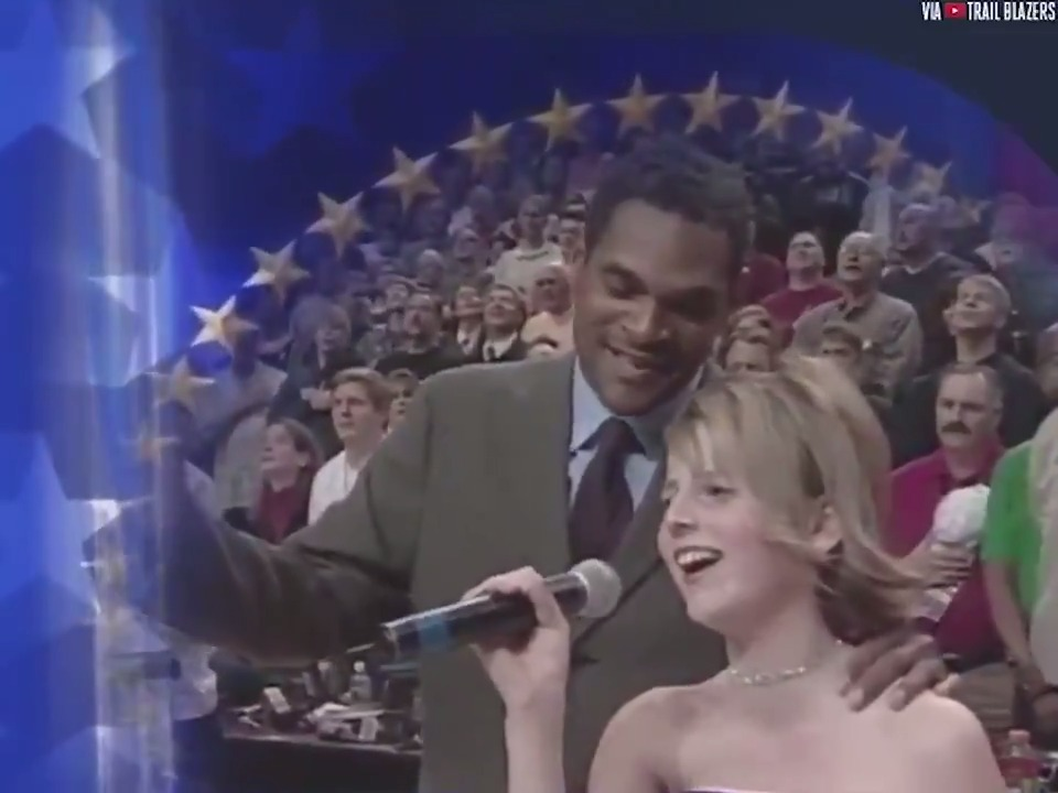Such an awesome moment: The time Maurice Cheeks helped out with the national anthem