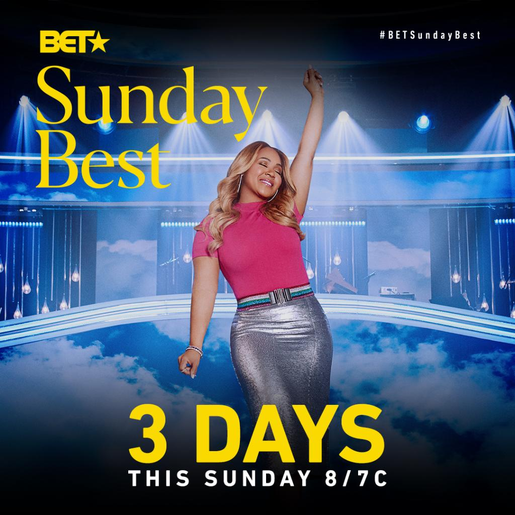 We're 3 DAYS away from the Season 10 premiere of @BETSundayBest!   Drop a 🎙 if you're ready for #BETSundayBest to return! https://t.co/wUqB3TFFbU