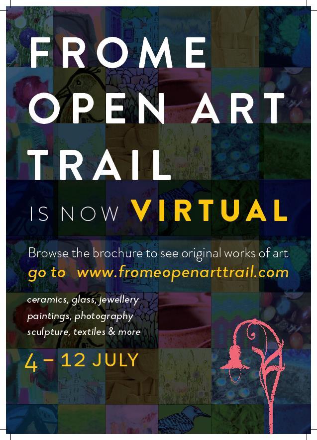 The 2020 Virtual Frome Open Art Trail #OpenStudio @FromeTownCouncil @BlackSwanArts @SilkMillStudios - https://t.co/ftUABRwpG3 https://t.co/agRmmD9k8J
