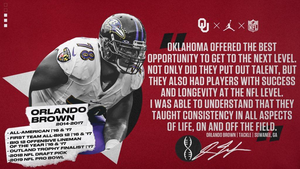 Why Oklahoma. OUDNA.com/nfl | #OUDNA