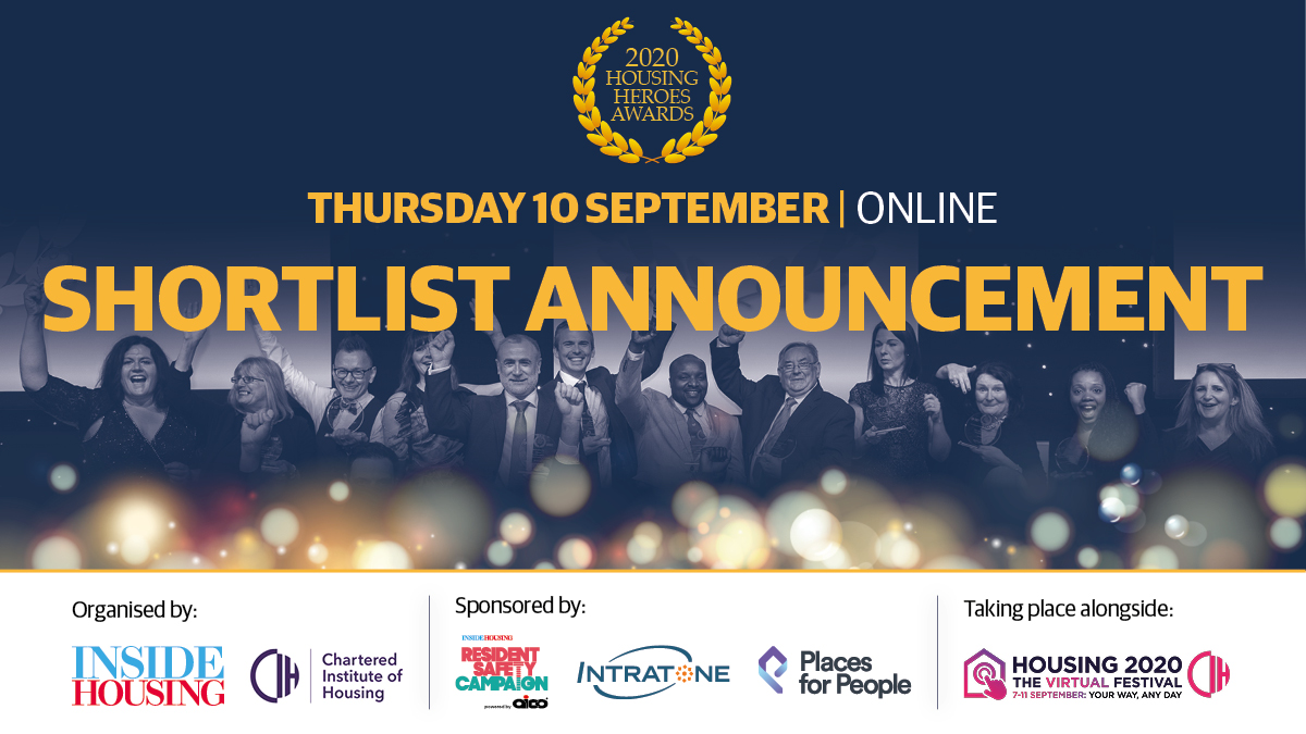 Drum roll please.....🥁🥁 The finalists for the Housing Heroes Awards 2020 are now live on our website here: housingheroesawards.co.uk/hha-shortlist A huge congratulations to the shortlist on behalf of @insidehousing @CIHhousing @Aico_Limited @intratone @placesforpeople #housingheroesawards